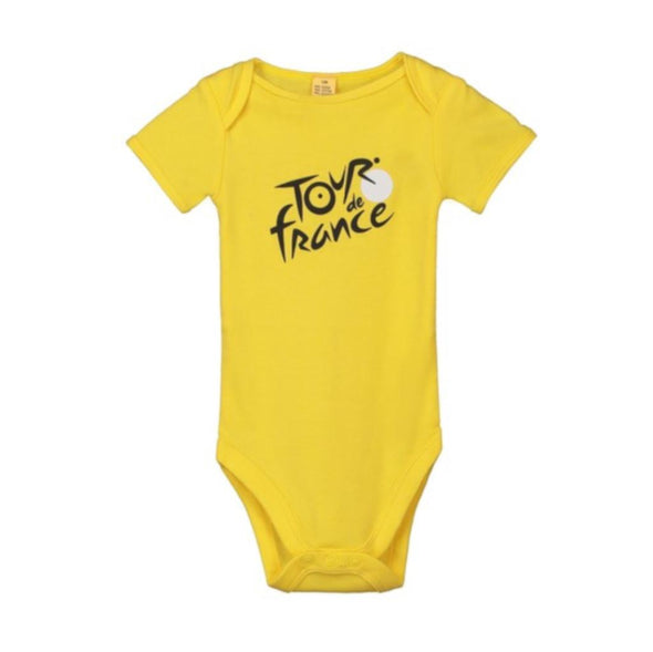 Tour de France Baby Leader Bodysuit | Yellow
