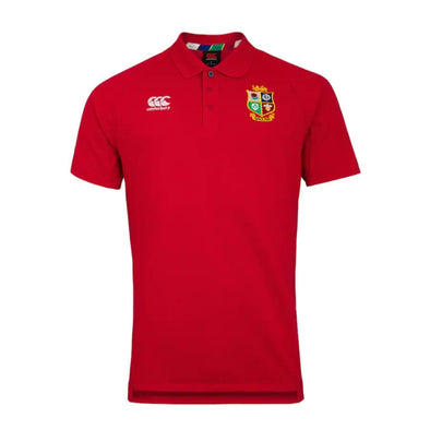 Canterbury British & Irish Lions Rugby Pique Polo | Mens | Tango Red | 2021