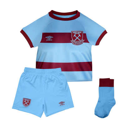 Umbro West Ham United Away Baby Kit | Blue | 2020/21