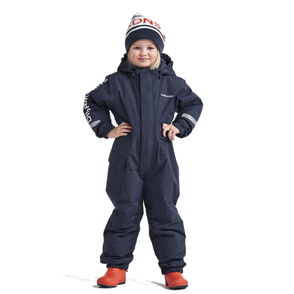Didriksons Hailey Kids Coverall | Navy