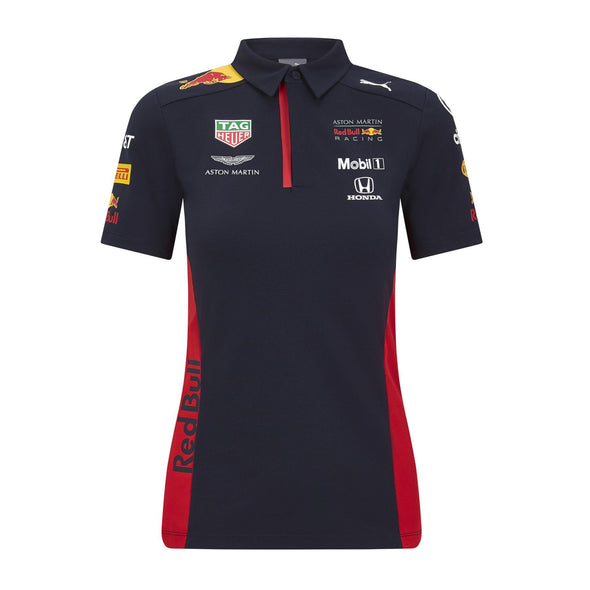 Aston Martin Red Bull Racing Women's Puma Replica Team Polo Shirt | Navy | 2020