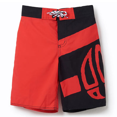Animal Layka Boys Boardshorts | Watermelon Red