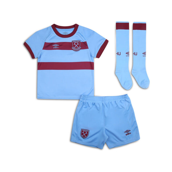 Umbro West Ham United Away Junior Mini Kit | Blue | 2020/21