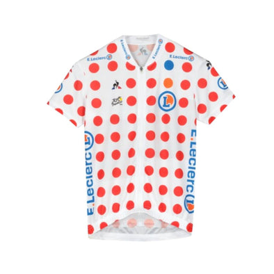 Tour de France Le Coq Sportif Kids Replica King of the Mountains Jersey | Polka | 2019
