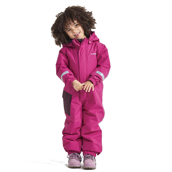 Didriksons Hailey Kids Coverall | Lilac
