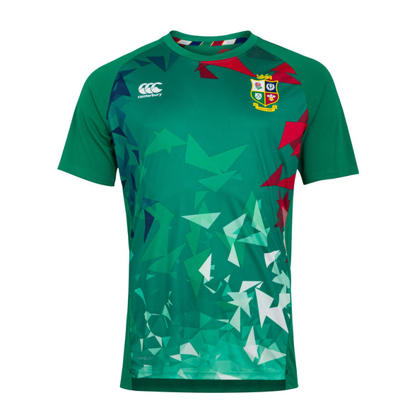 Canterbury British & Irish Lions Rugby Superlight Graphic Tee | Mens | Bosphorus Green | 2021