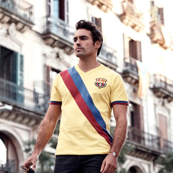 FC Barcelona Away Retro Football Shirt | 1978/79 Season