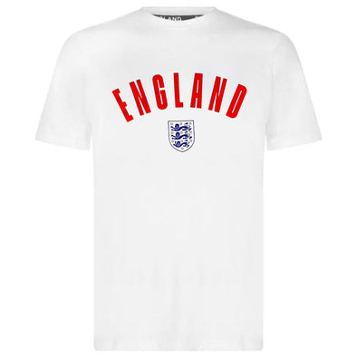 England Football Men's Wordmark T-Shirt | White