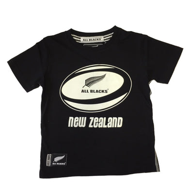 New Zealand All Blacks Rugby Kids Ball T-shirt