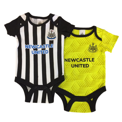 Newcastle United Baby Kit 2 Pack Bodysuits | 2021