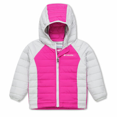 Columbia Powder Lite Infant Hooded Jacket | Pink Ice