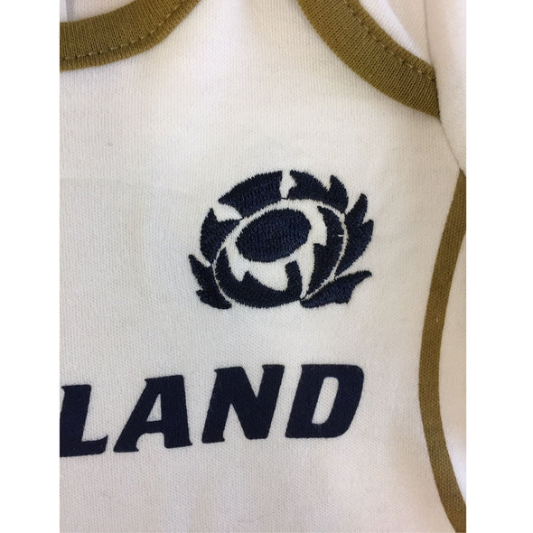 Scotland Rugby Baby 2 Pack Bodysuits | Navy | 2021