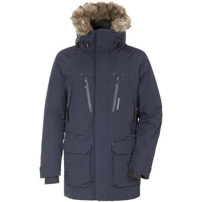 Didriksons Marco Mens Parka | Dark Night Blue
