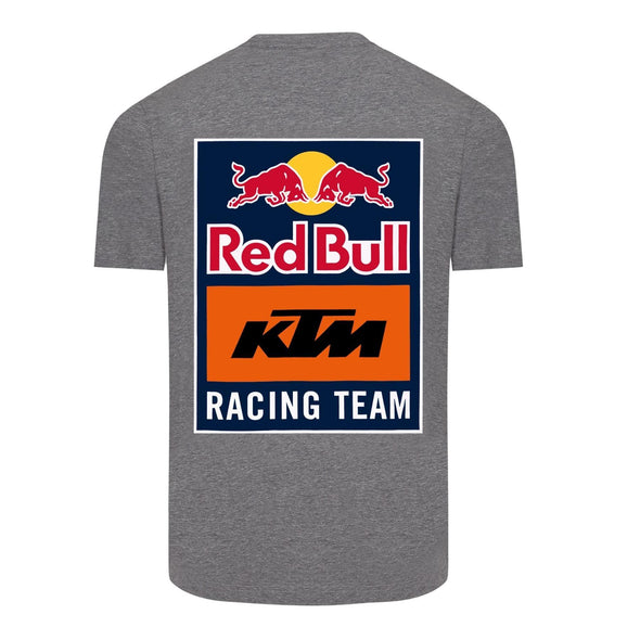 Red Bull KTM Racing Team Men's Back Print T-Shirt | Grey | 2021
