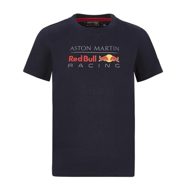 Aston Martin Red Bull Racing Kid's Large Logo T-Shirt | Navy | 2020