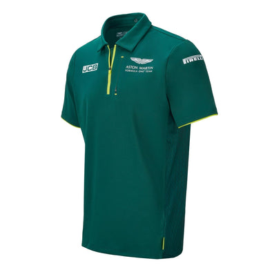 Aston Martin F1 Team Polo Shirt | Adult | Green | 2021