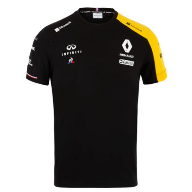 Renault Sport Kids Team T-Shirt | Black | 2019