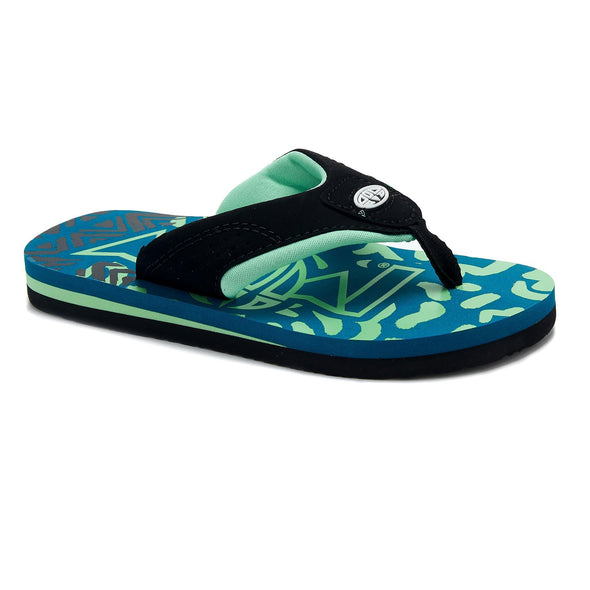 Animal Boys Jekyl Logo Flip Flops | Colonial Blue