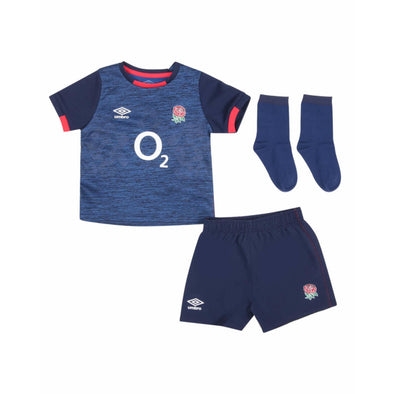 Umbro England RFU Rugby Alternate Baby Mini Kit | Blue | 2020/21