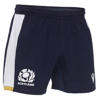 Macron Scotland Rugby Mens Alternate Replica Shorts | Navy | 2020/21