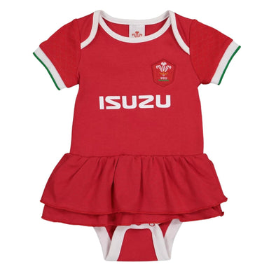 Wales WRU Rugby Baby Girls Kit Tutu | Red | 2021
