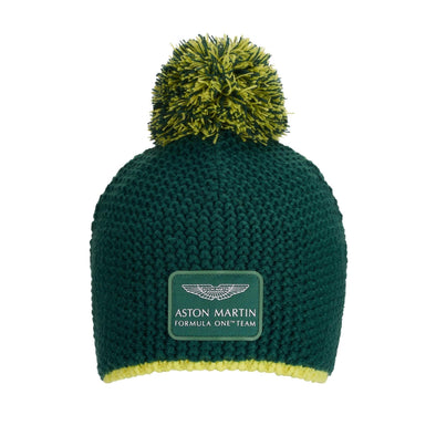 Aston Martin F1 Team Beanie Hat | Adult | Green | 2021