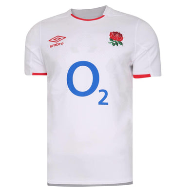 Umbro England RFU Rugby Home Shirt | White | 2020/21 | Adult