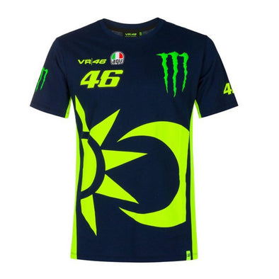 Valentino Rossi VR46 Men's Replica T-Shirt | Blue | 2021