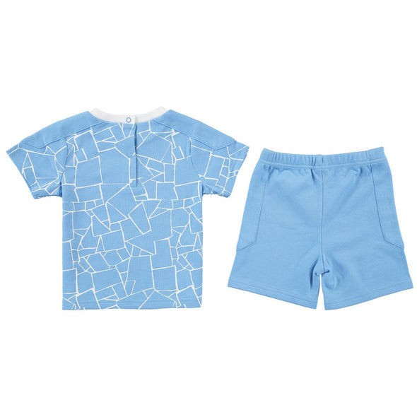 Manchester City Baby/Toddler T-shirt & Shorts Set | 2020/21
