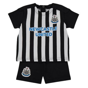 Newcastle United Baby Kit T-Shirt and Shorts Set | 2021