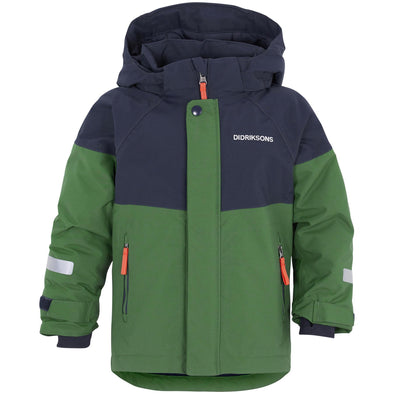 Didriksons Lun Kids Jacket | Leaf Green