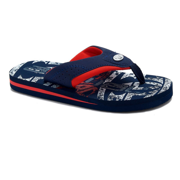 Animal Boys Jekyl Logo Flip Flops | Indigo Blue