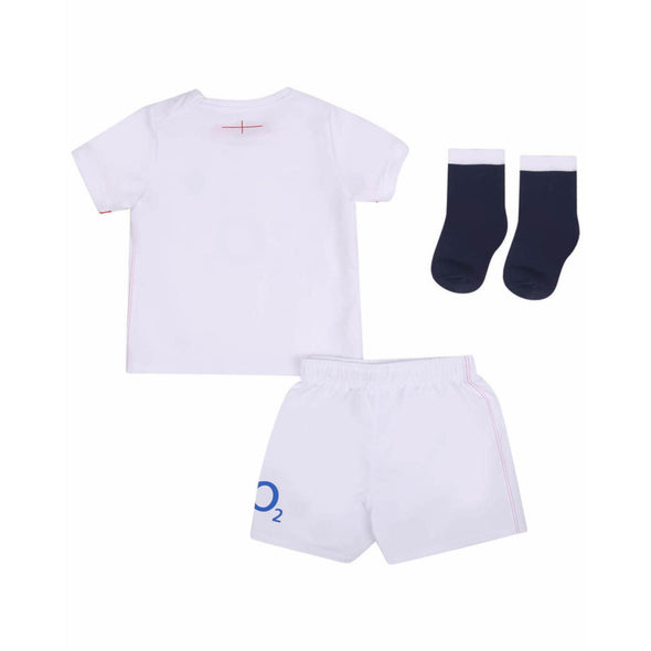 Umbro England RFU Rugby Home Baby Mini Kit | White | 2020/21