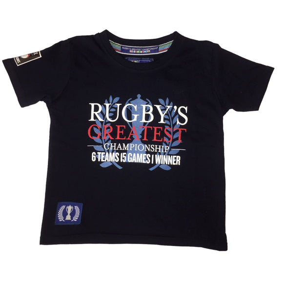 Guinness 6 Nations Rugby Kids Greatest Championship T-Shirt | Navy