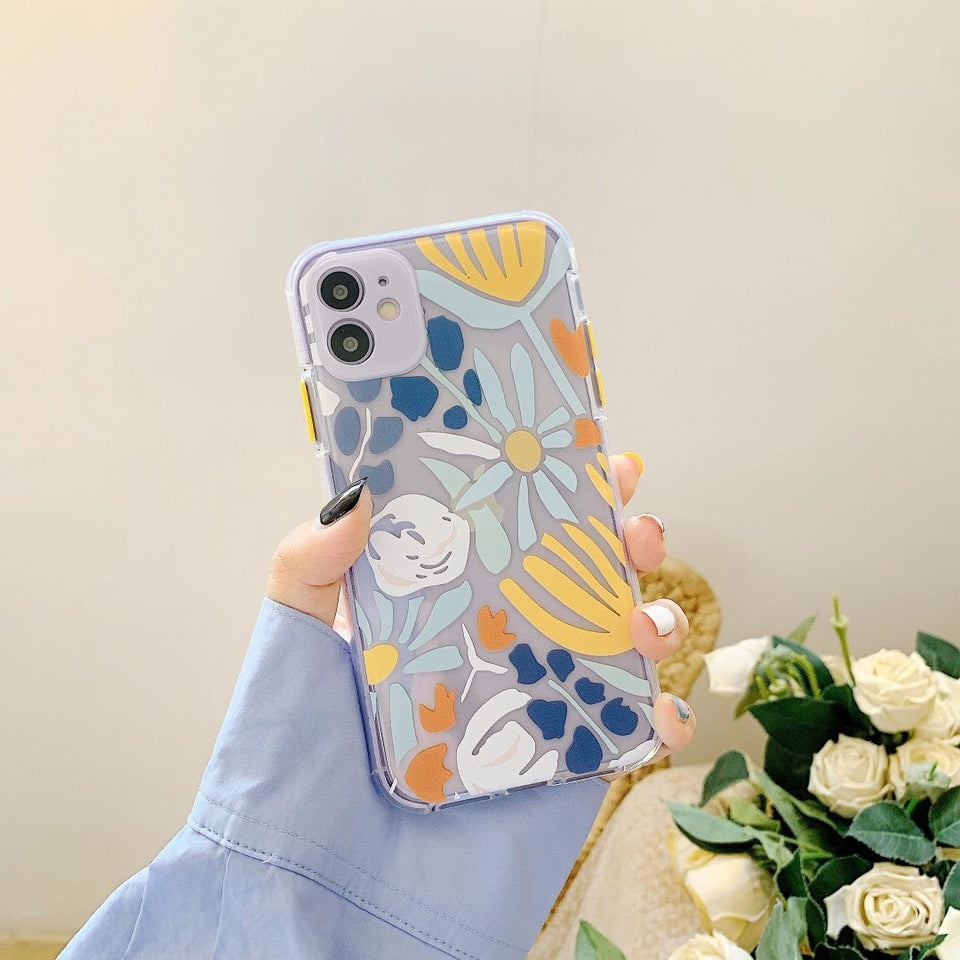 Luxury Vintage Flower Case