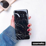 Bling Marble Samsung Case (Limited Edition) Black / For Galaxy S10