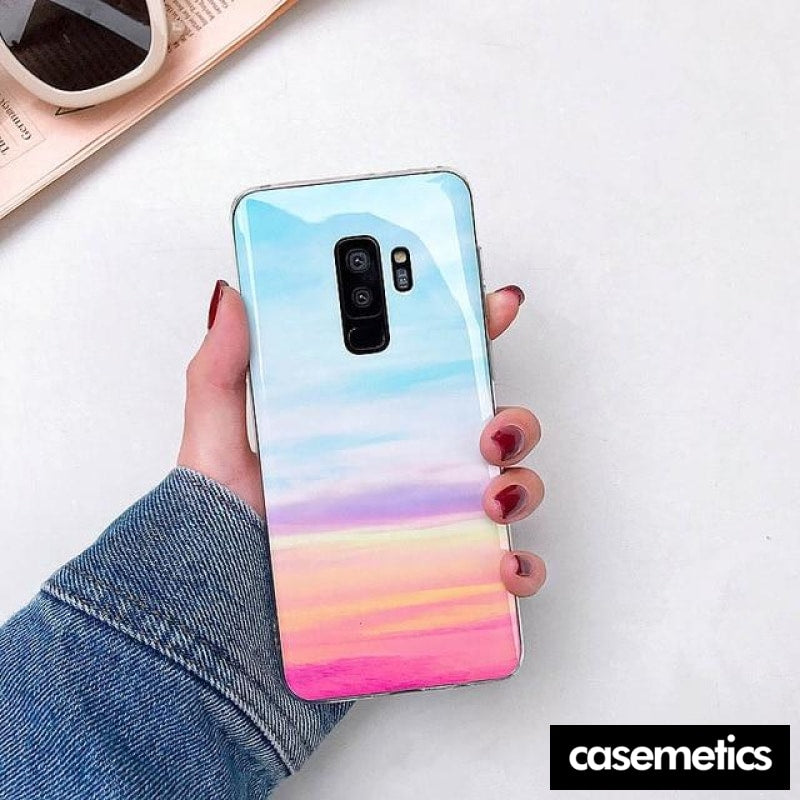 Bling Marble Samsung Case (Limited Edition) Bluish Pink / For Galaxy S10