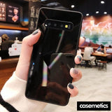 Diamond Texture Case For Samsung Black / S10