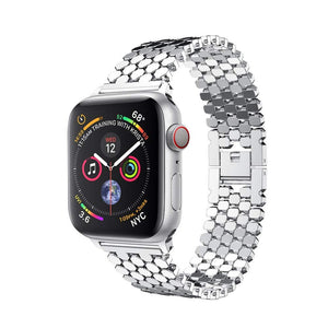 Premium Stainless Steel iWatch Strap