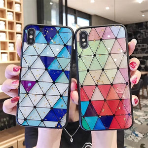 Colored Diamond Phone Case