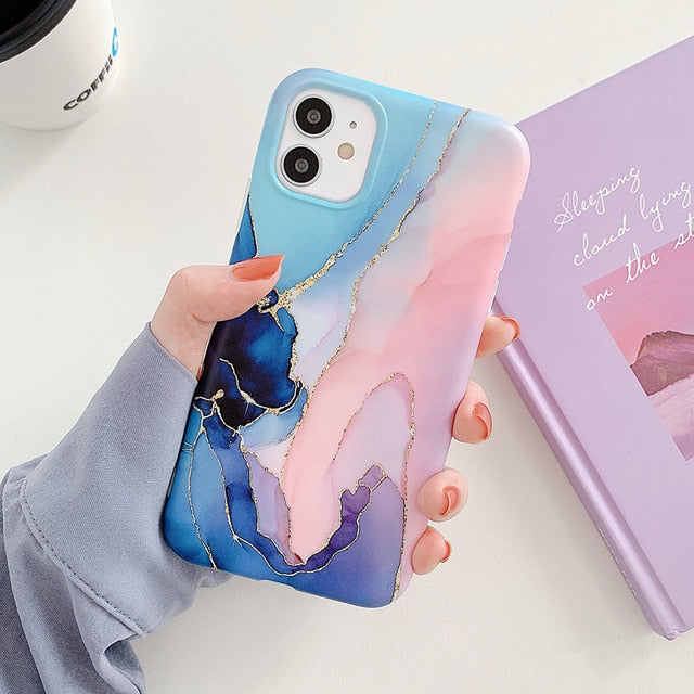 Luxury Gradient Marble Case