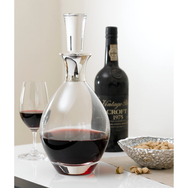 Pinot Silver Wine Decanter