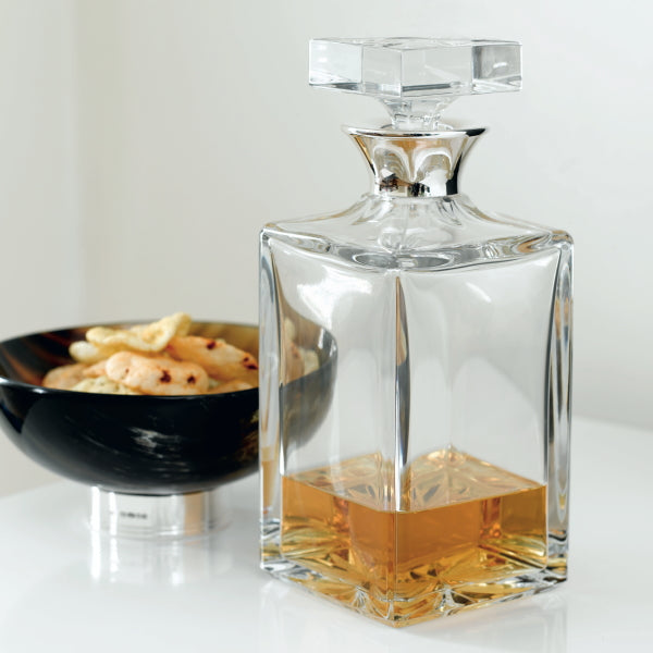 Tyrol Silver Decanter (square, silver collar only)