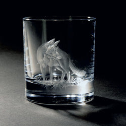The Opportunist Hand Engraved Whisky Glass
