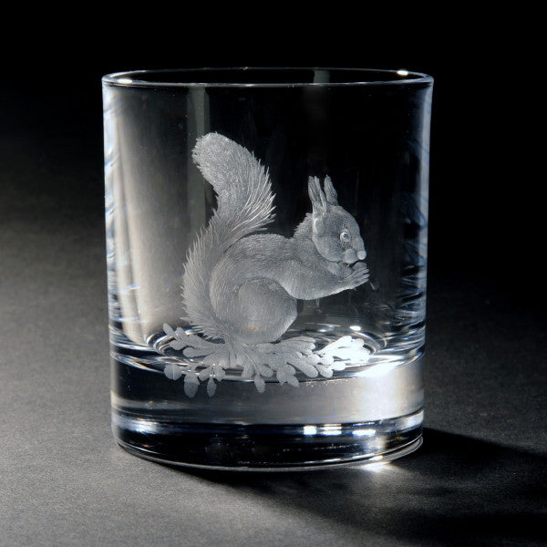 The Hoarder Hand Engraved Whisky Glass