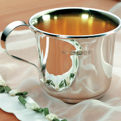 Silver Christening Cup