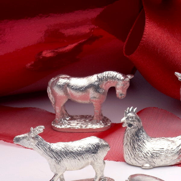 Dobbin Shire Horse Cracker or Pudding Charm
