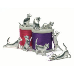 Set Of 8 Pudding Charms Cats x 8