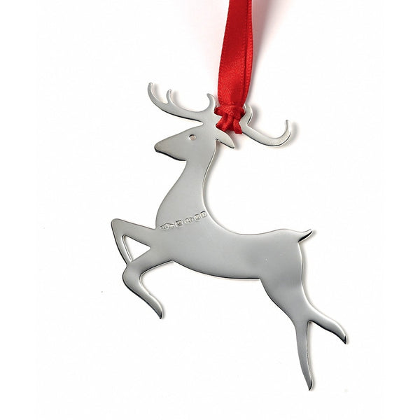 Dasher Sterling Silver Christmas Decoration PRE-ORDER