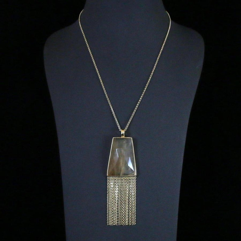 Lambada Rutilated Quartz Pendant